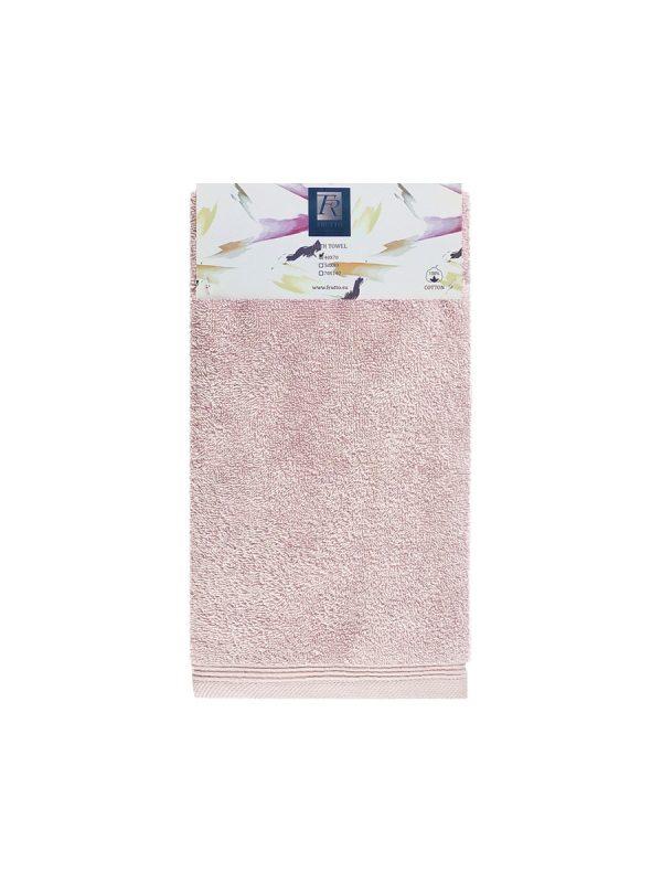 Jednobarevný ručník FRH101 - růžová - 40 x 70 cm Světle-růžová
