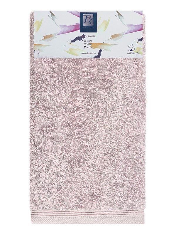 Jednobarevná osuška FRH103 - růžová - 70 x 140 cm Světle-růžová