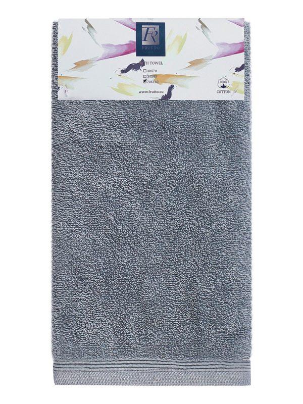 Jednobarevná osuška FRH106 – tmavě šedá – 70 x 140 cm Antracitová