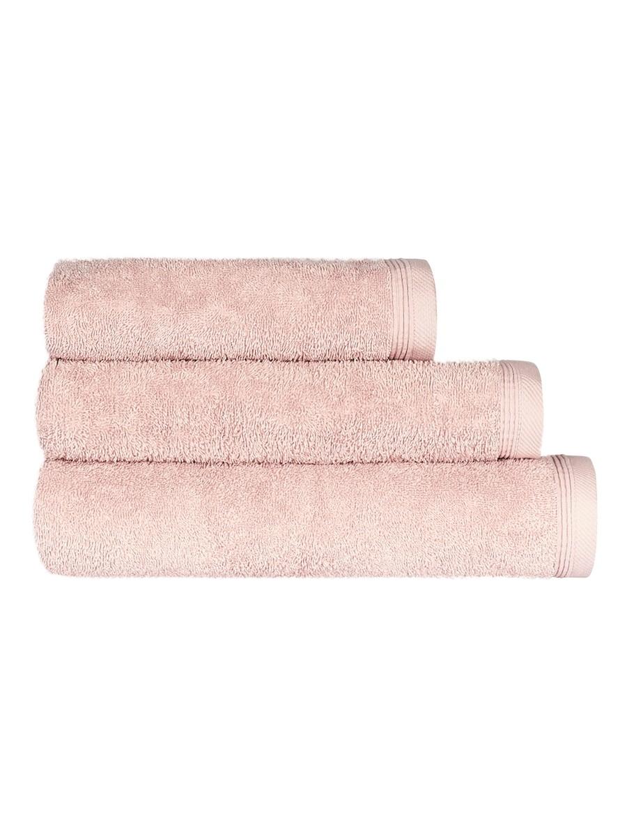 Jednobarevný ručník FRH107 - broskvová - 40 x 70 cm Broskvová