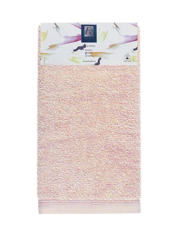 Jednobarevný ručník FRH108 - broskvová - 50 x 90 cm Broskvová