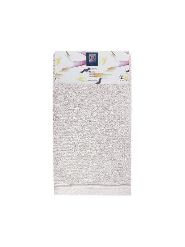 Jednobarevný ručník FRH110 Měsíčně šedá