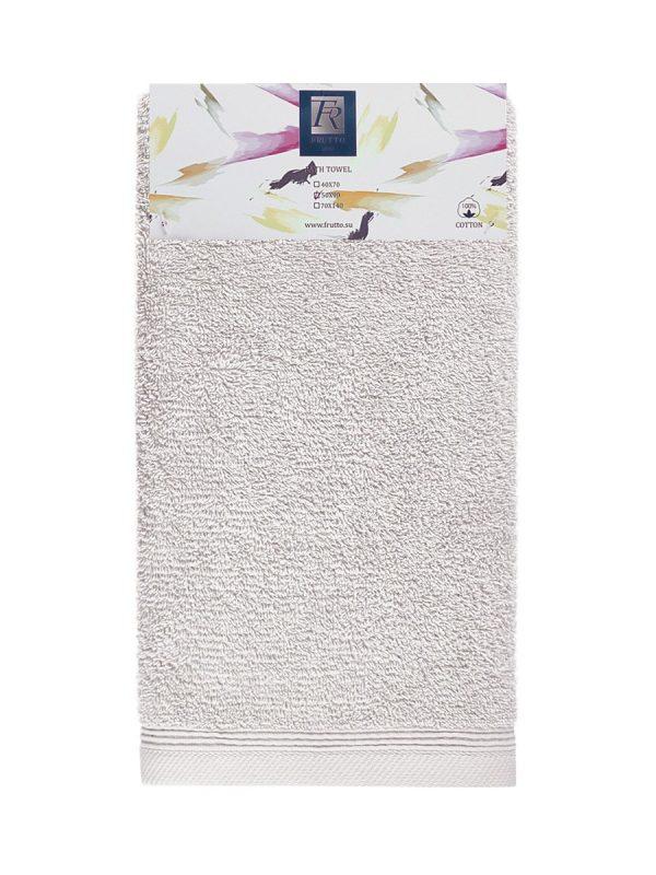 Jednobarevný ručník FRH111 Měsíčně šedá
