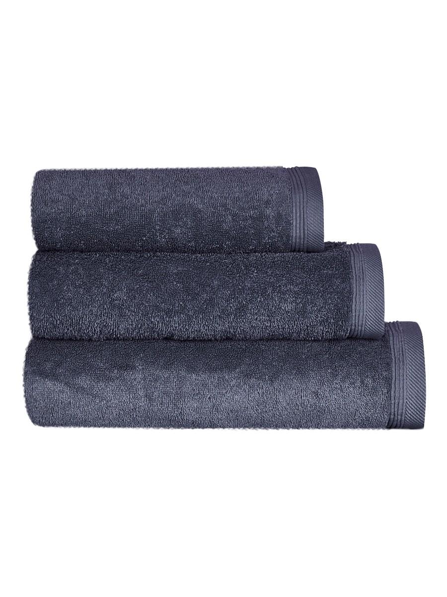 Jednobarevný ručník FRH113 Tmavě šedá
