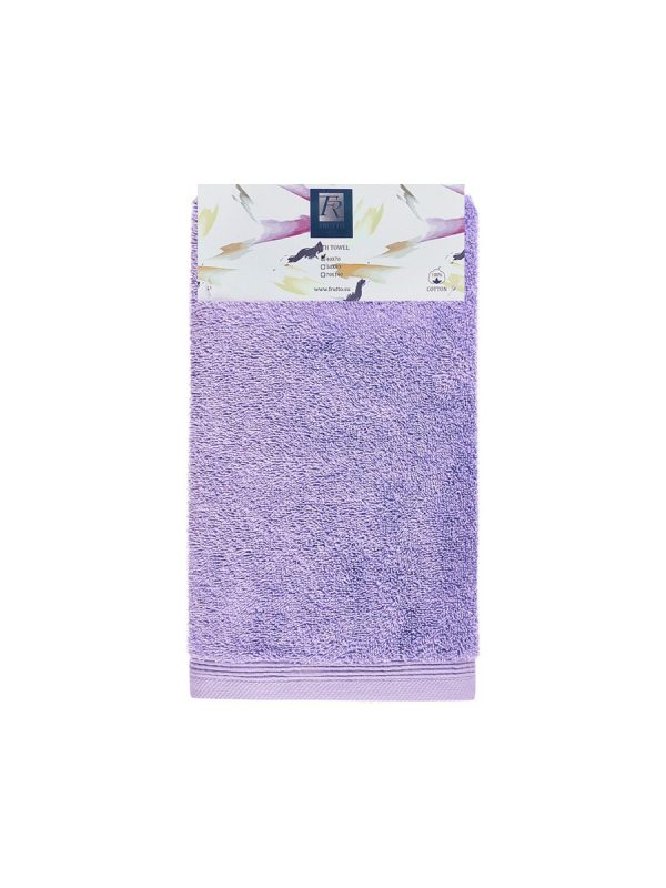 Jednobarevný ručník FRH116 Světle-šeříková