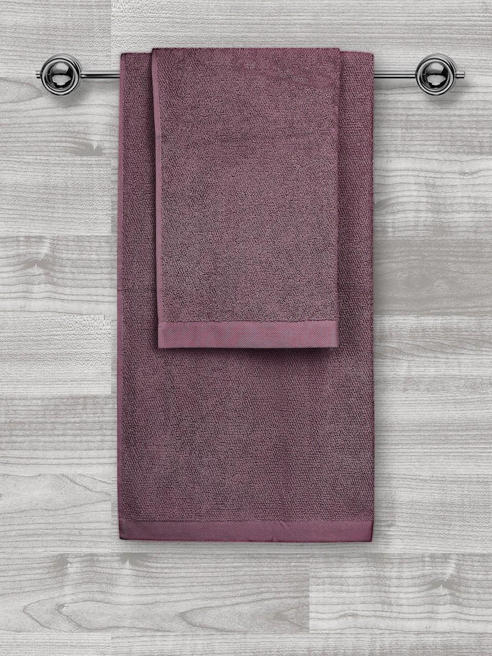 Jednobarevný ručník FRH120 Bordo