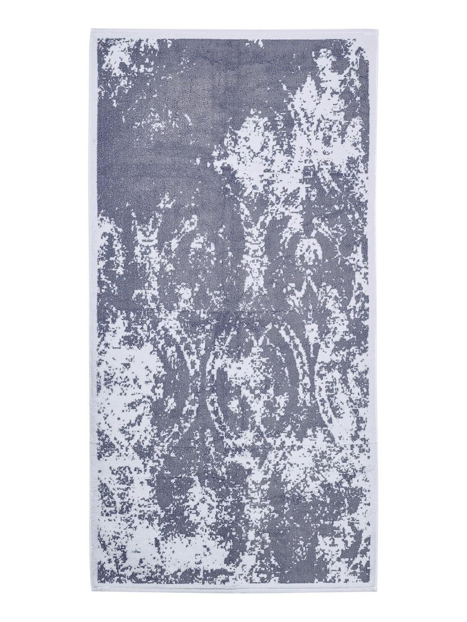 Vícebarevný ručník FRH129 Šedo-modrá