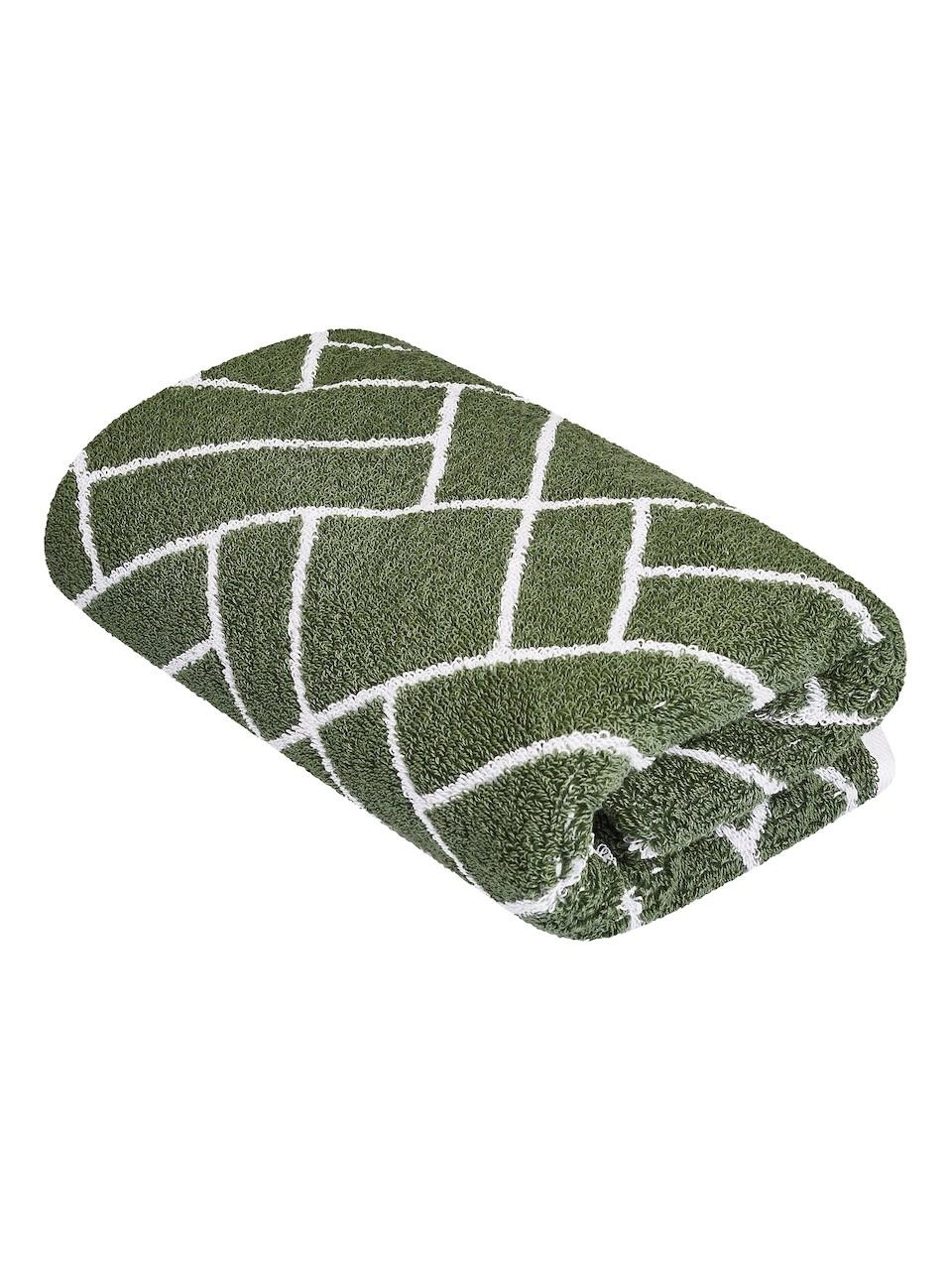 Vícebarevný ručník FRH138 Zelená