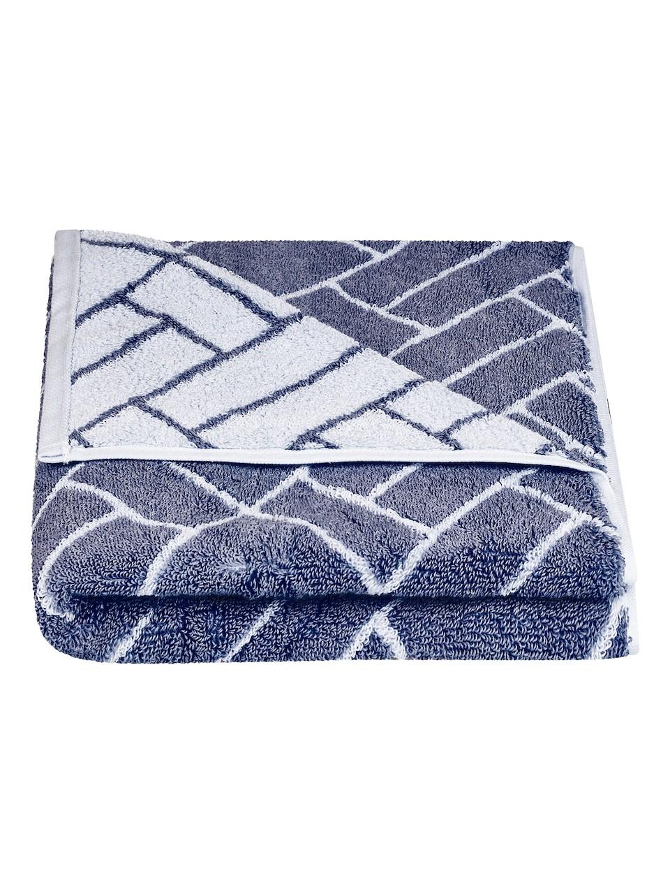 Vícebarevný ručník FRH144 Šedo-modrá