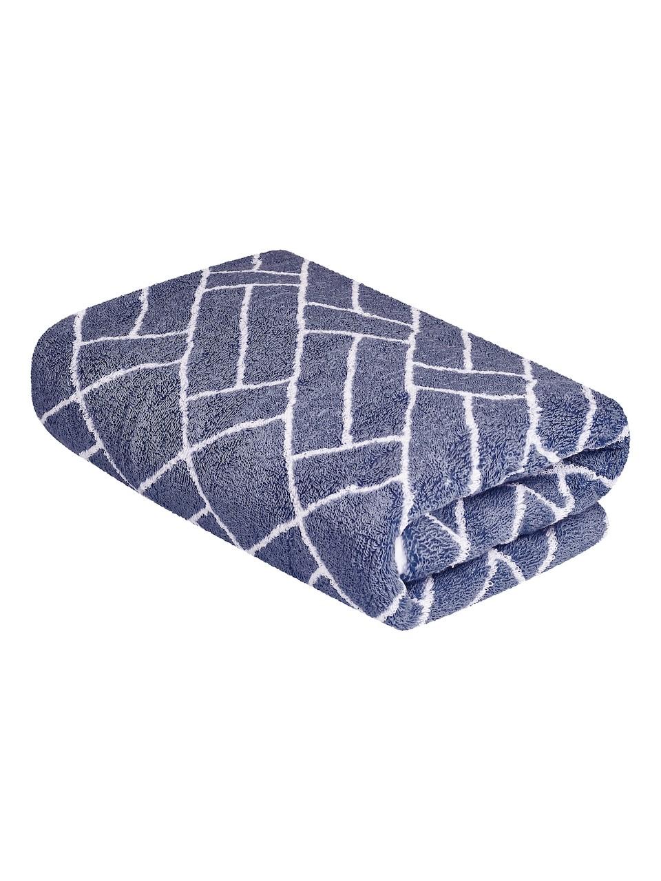 Vícebarevná osuška FRH145 Šedo-modrá