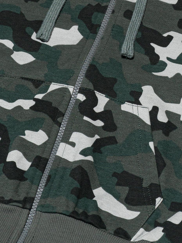 Chlapecká mikina Camouflage Khaki