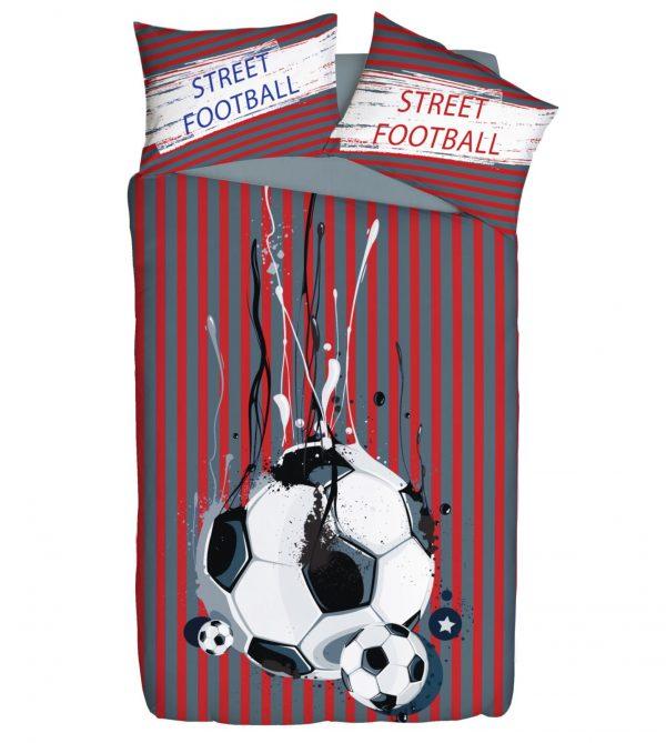 Ložní povlečení pro teenagery - Street Football Digitální tisk