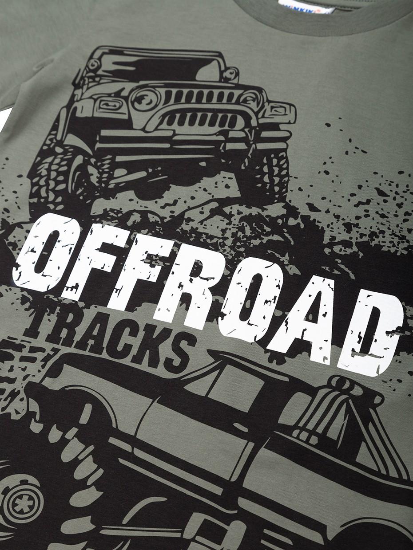 Chlapecké tričko Offroad Khaki