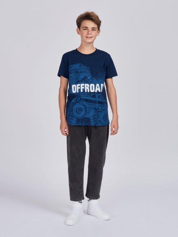 Chlapecké tričko Offroad Navy