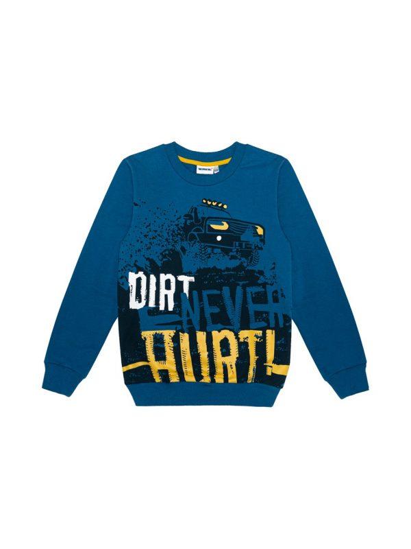 Chlapecká mikina Dirt Tmavě modrá