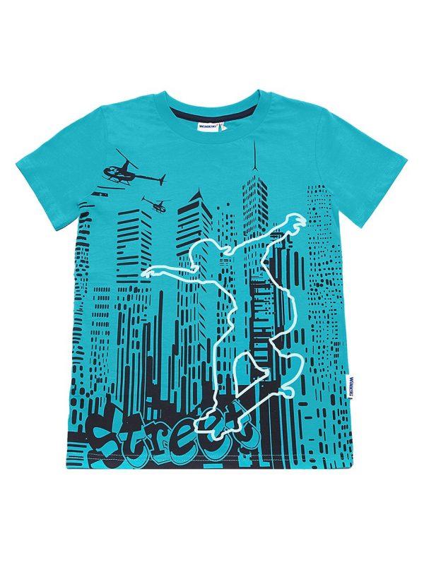 Chlapecké tričko Street Tyrkysová
