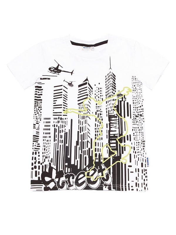 Chlapecké tričko Street Bílá
