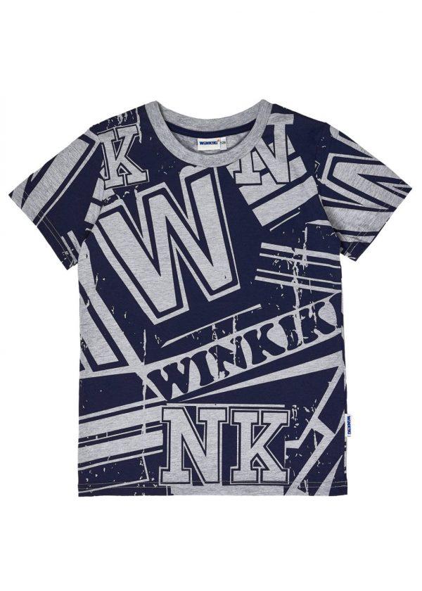 Chlapecké tričko Winkiki Šedý melanž