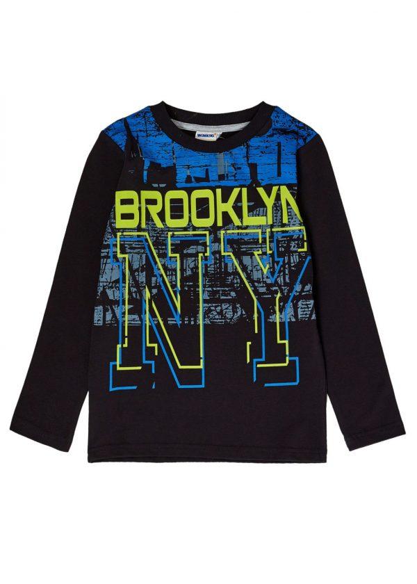 Chlapecké tričko Brooklyn Černá
