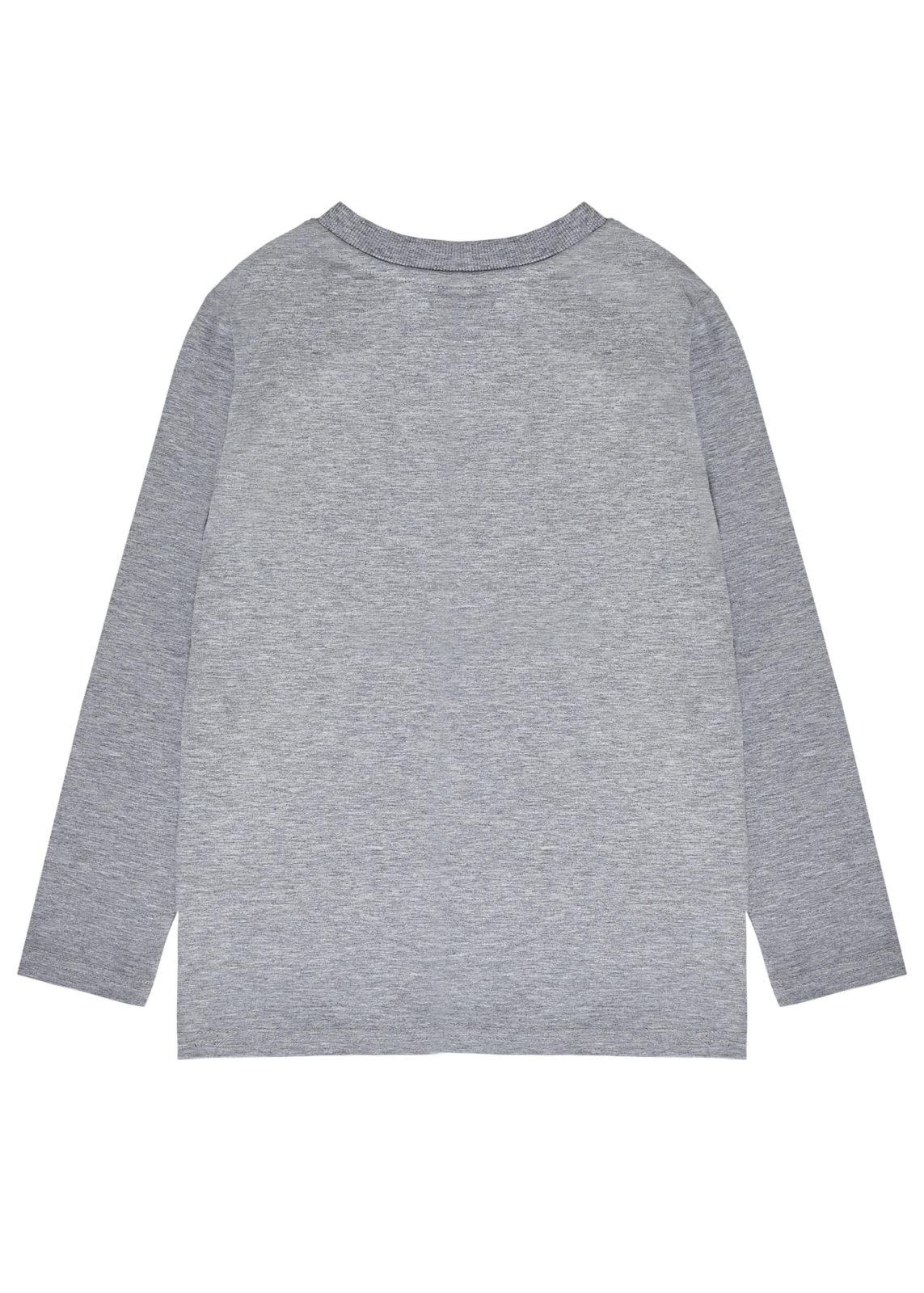 Chlapecké tričko Brooklyn Šedý melanž