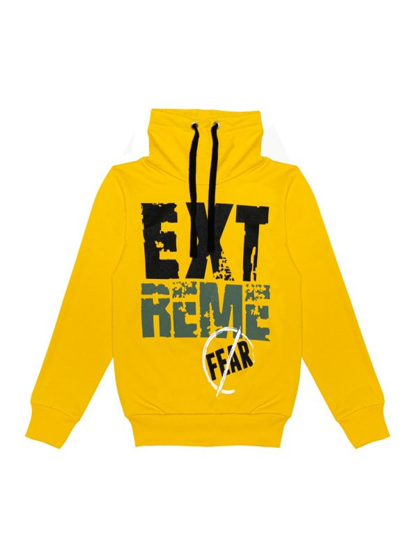 Chlapecká mikina Extreme Žlutá