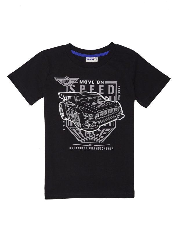 Chlapecké tričko Speed Černá