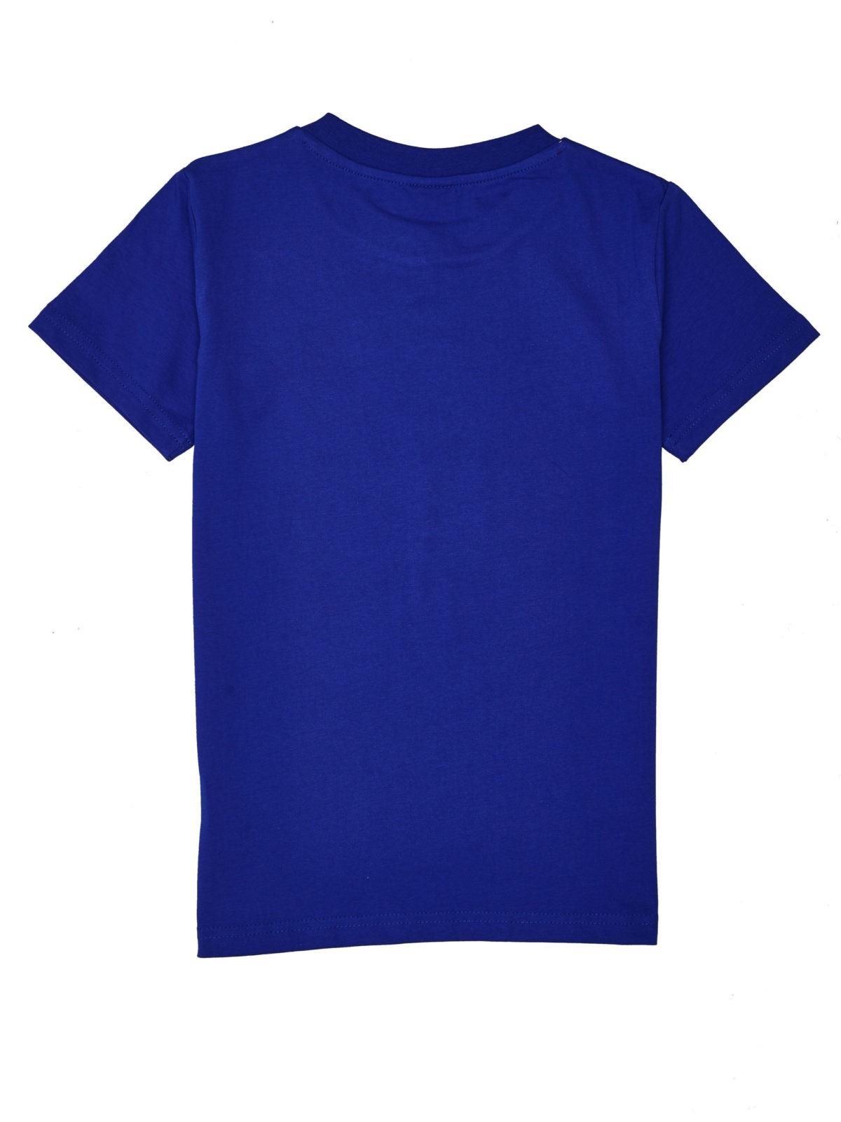 Chlapecké tričko Burn Out Tmavě modrá