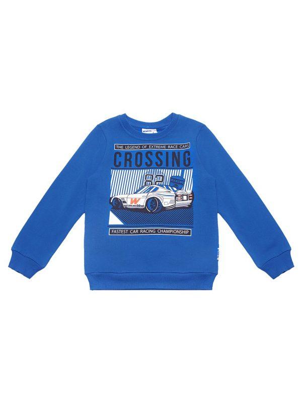 Chlapecká mikina Crossing Tmavě modrá