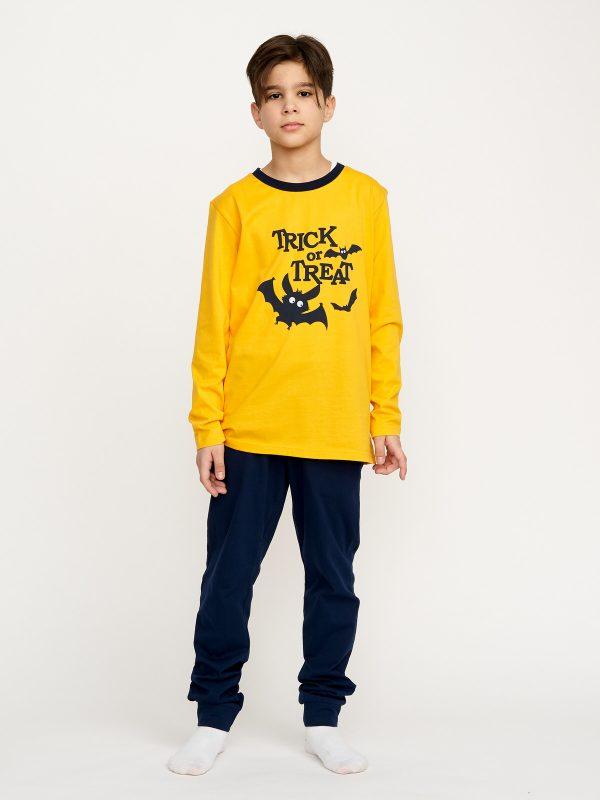 Chlapecké pyžamo Halloween Žlutá/Navy