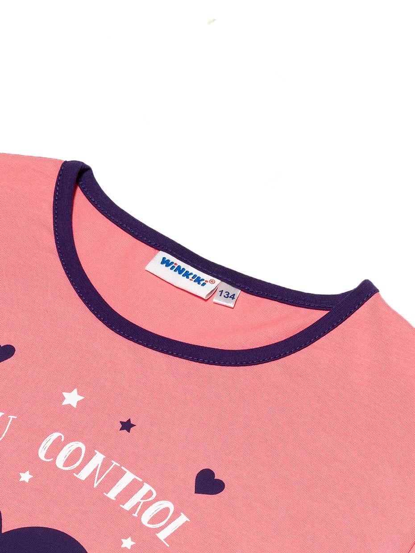 Dívcí noční košile Colourful dreams Růžová
