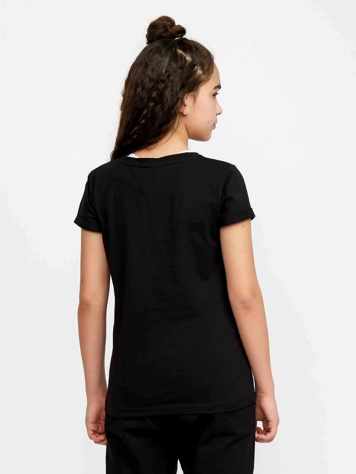 Dívčí tričko Belive Černá