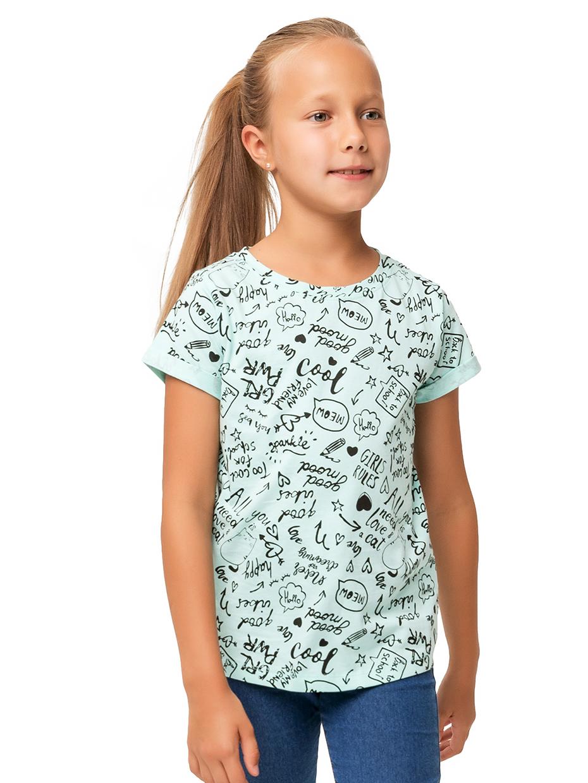 Dívčí tričko Good Mood Mátová