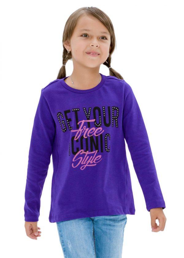 Dívčí tričko Free Style Fialová