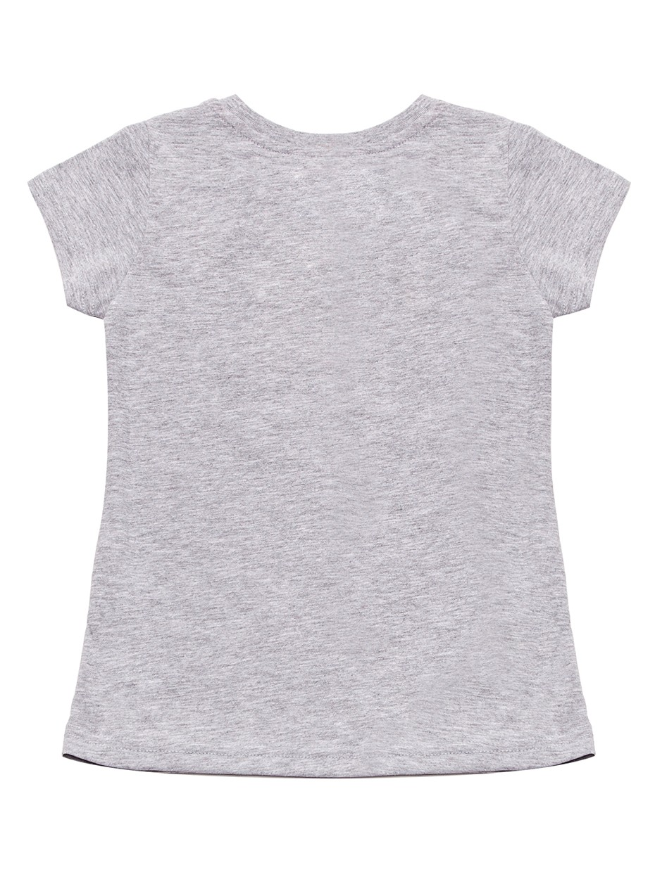 Dívčí tričko Kitty Šedý melanž