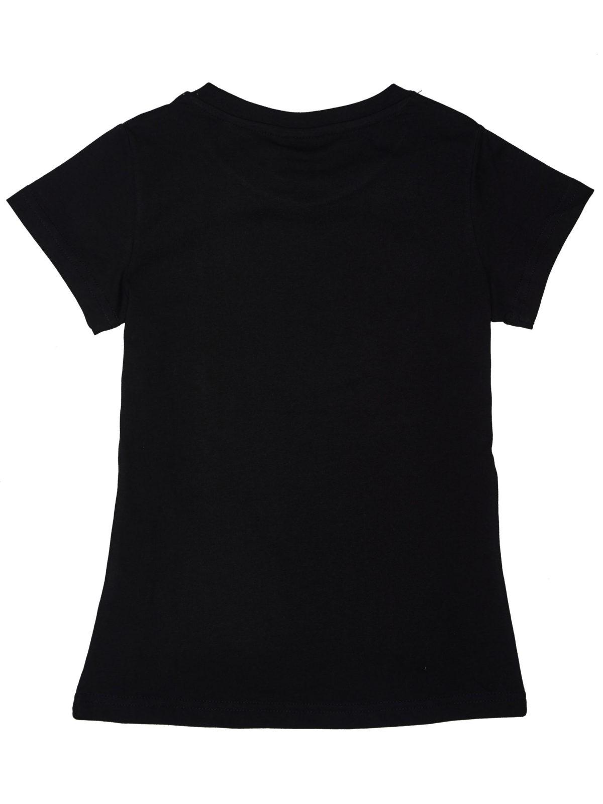 Dívčí tričko Fashion Černá