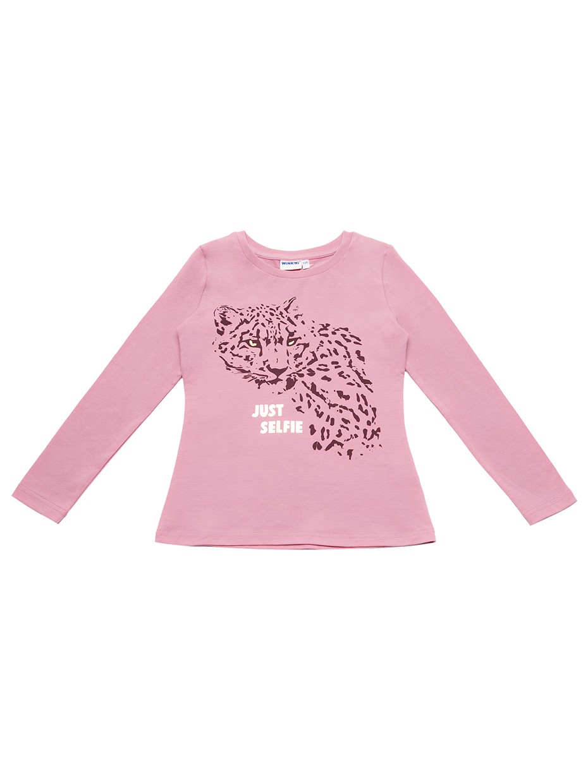 Dívčí tričko Just Selfie Růžová