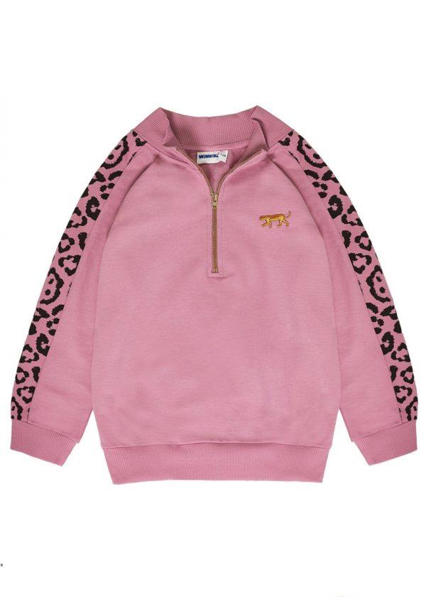 Dívčí mikina Gepard Růžová