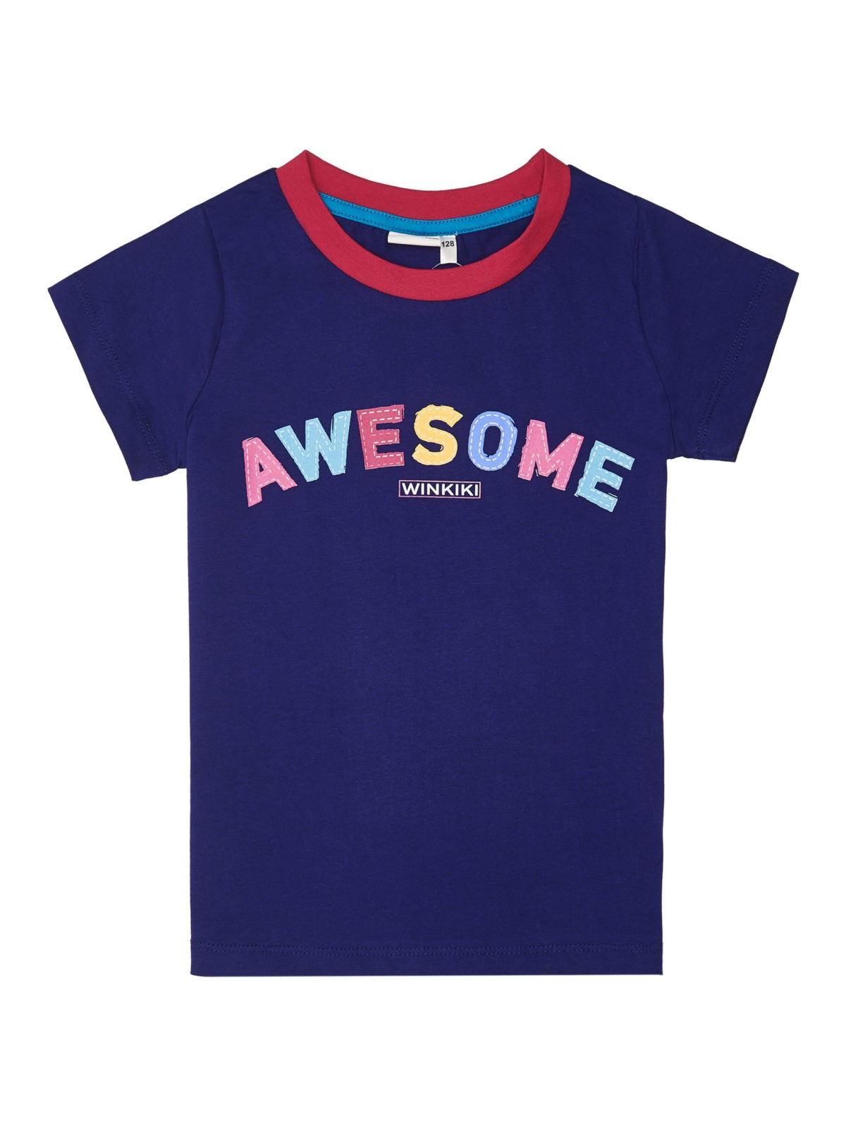 Dívčí pyžamo Awesome Navy/Malinová