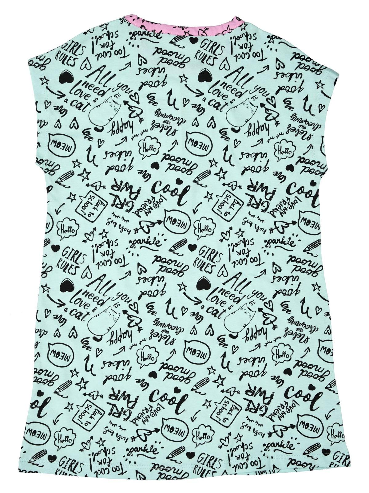 Dívčí noční košile Good Mood Mátová