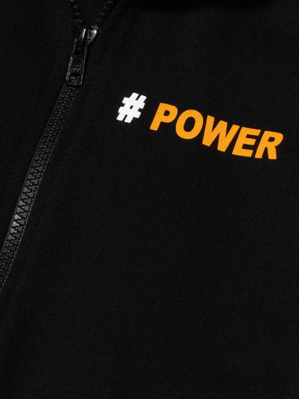 Chlapecká mikina Power Black Černá