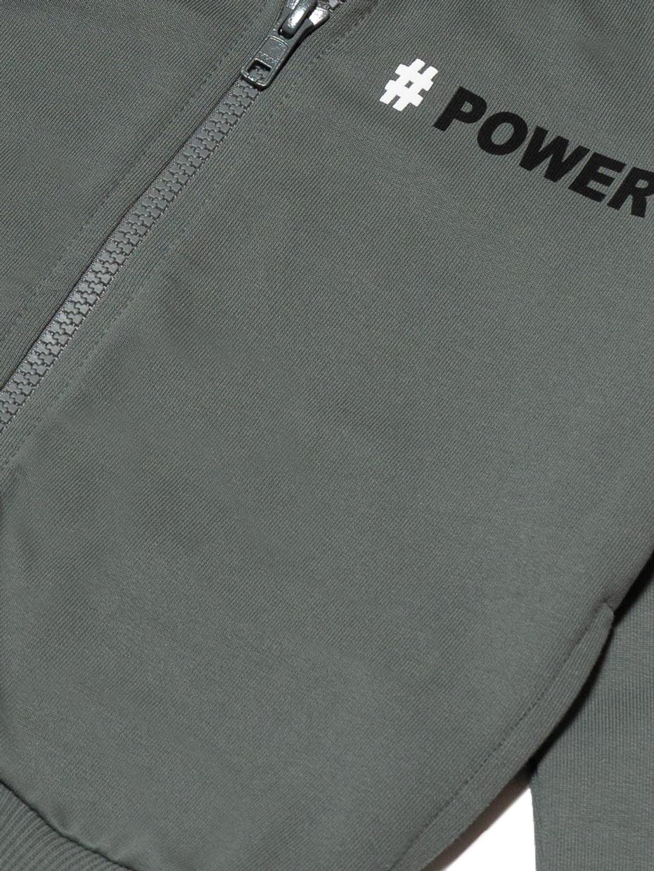 Chlapecká mikina Power Khaki