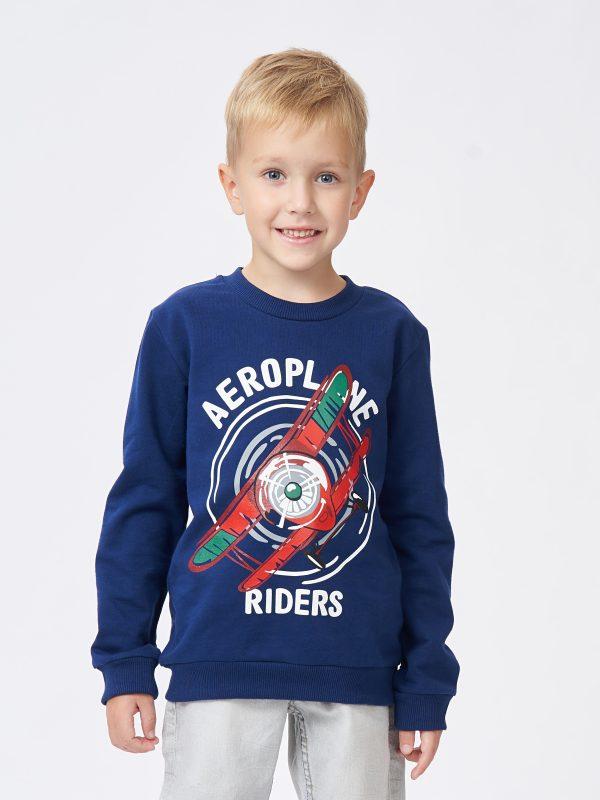 Chlapecká mikina Riders Navy