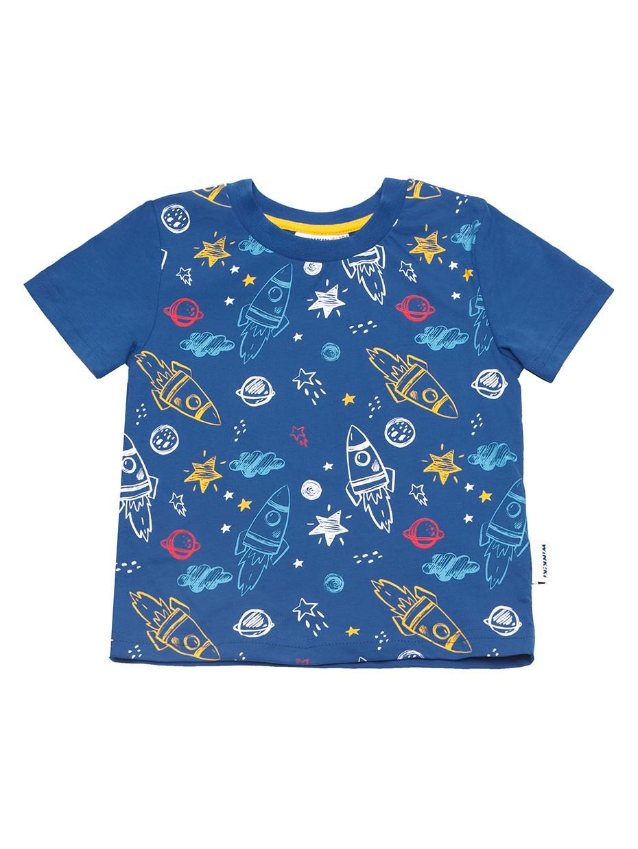 Chlapecké tričko Space Tmavě modrá