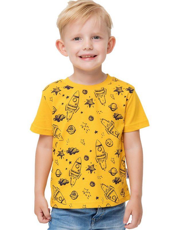 Chlapecké tričko Space Žlutá