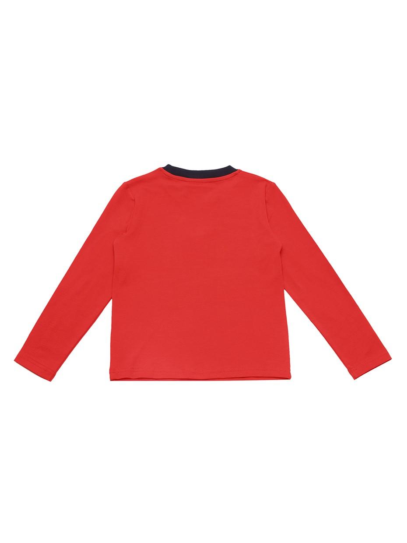 Tričko s dlouhým rukávem Space Bandits Červená