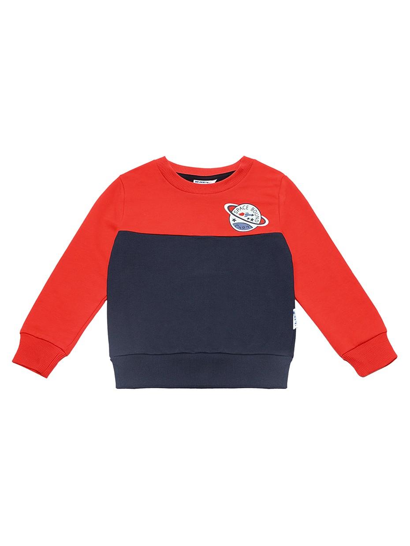 Chlapecká mikina Space Bound Červená/Navy