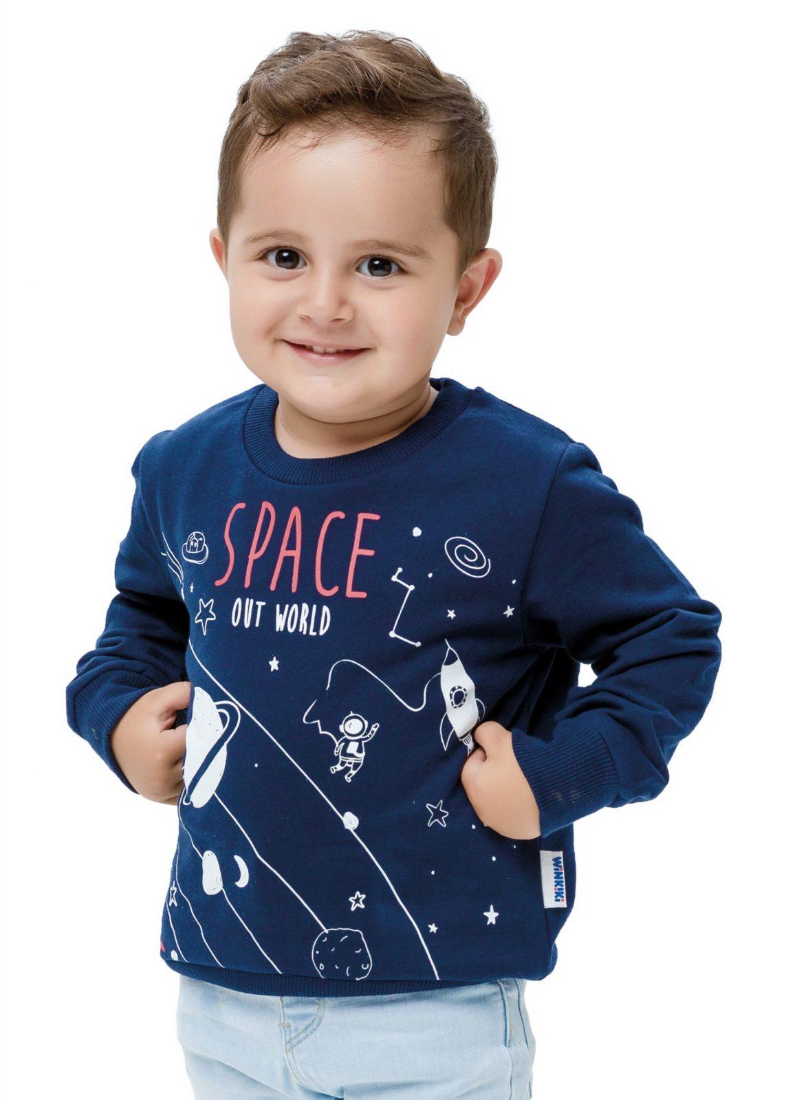 Chlapecká mikina Space Navy
