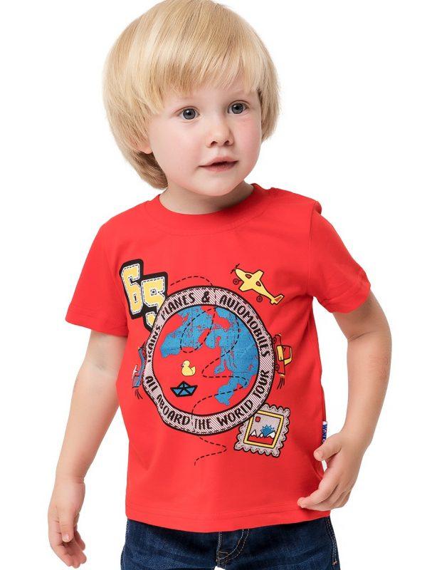 Chlapecké tričko World Tour Červená