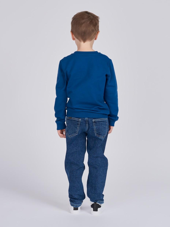 Chlapecká mikina Builder Tmavě modrá