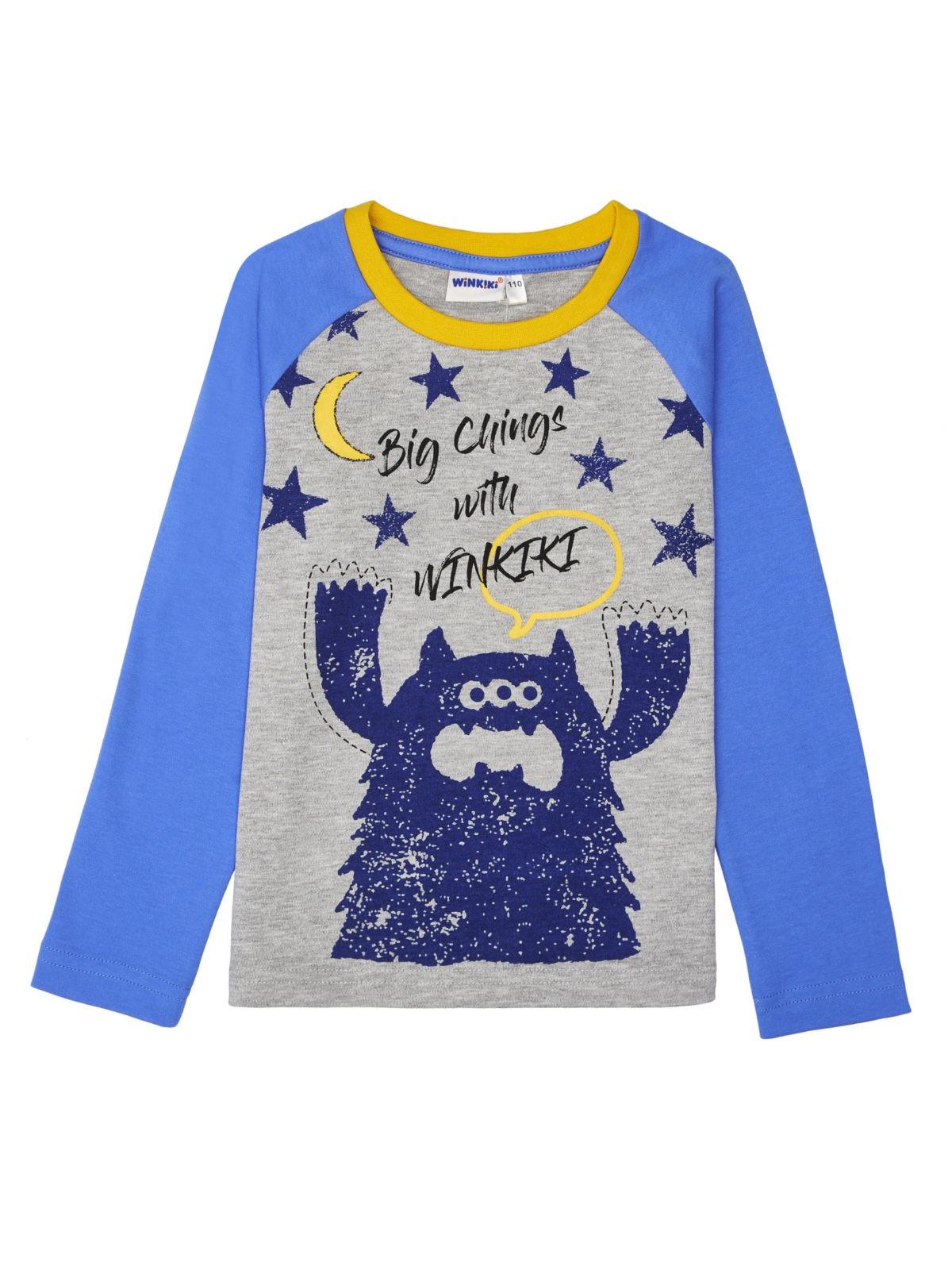 Chlapecké pyžamo Winkiki Modrá
